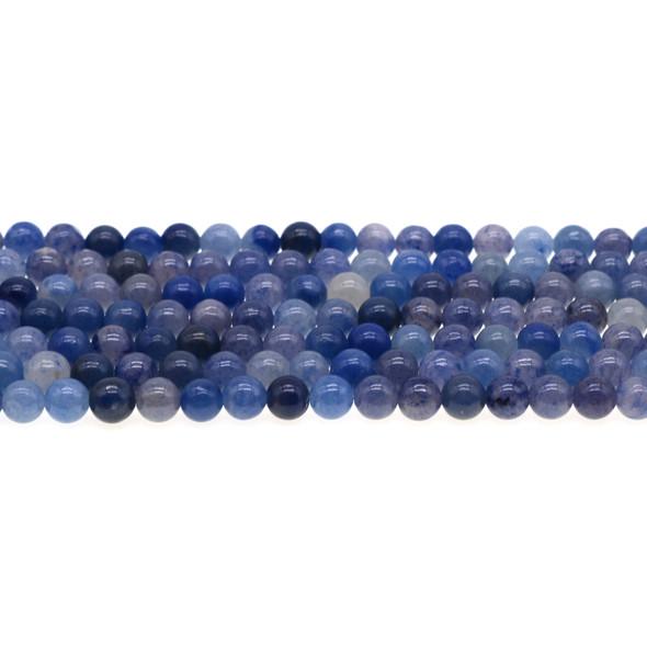 Blue Aventurine Round 6mm - Loose Beads
