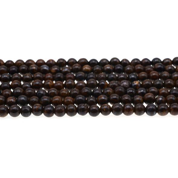 Bronzite Round 6mm - Loose Beads