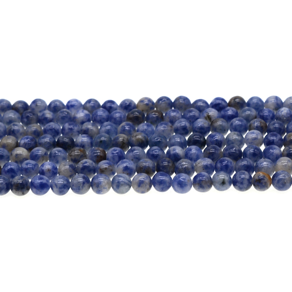 Blue Spot Jasper Round 6mm - Loose Beads