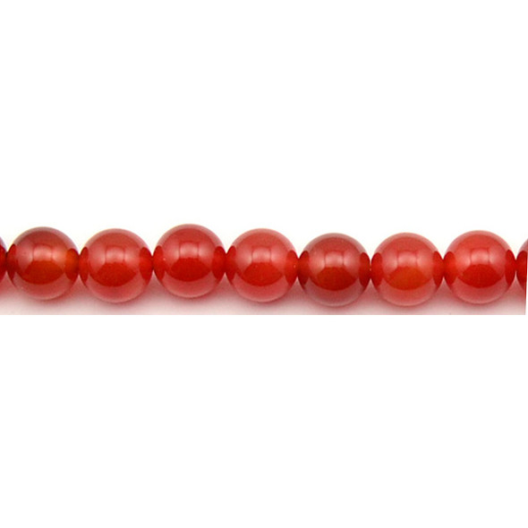Carnelian - Red Round 10mm - Loose Beads