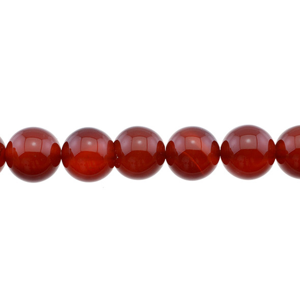 Carnelian - Red Round 12mm - Loose Beads