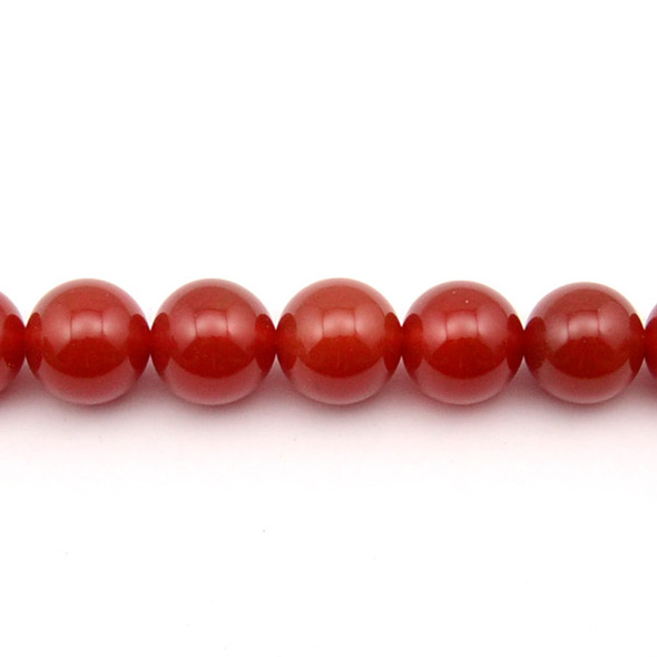 Carnelian - Red Round 14mm - Loose Beads