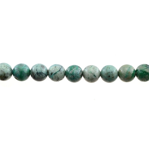 Chrysocolla (A) Round 10mm - Loose Beads