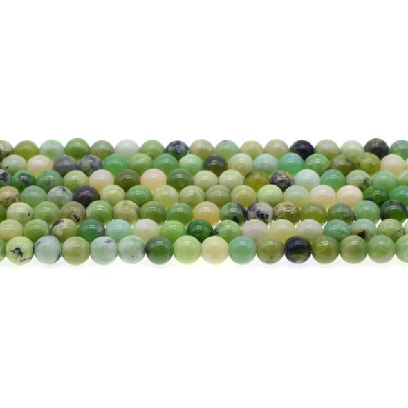 Chrysoprase Australian Jade Round 6mm - Loose Beads