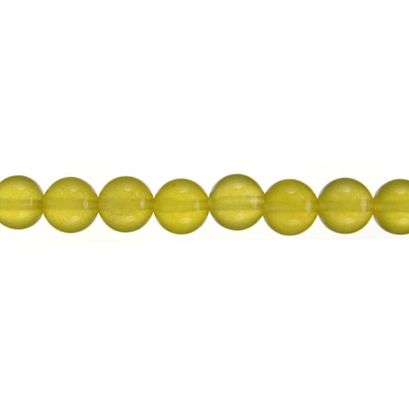 Yellow Jade Round 10mm - Loose Beads