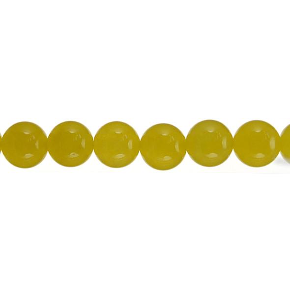 Yellow Jade Round 12mm - Loose Beads