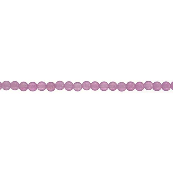 Pink Jade Round 4mm - Loose Beads