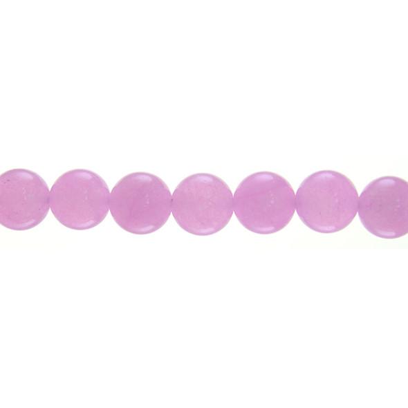 Pink Jade Round 10mm - Loose Beads