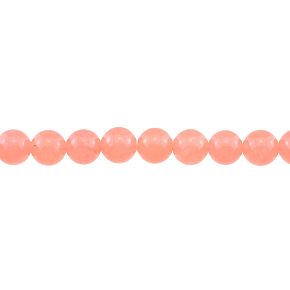 Papaya Jade Round 10mm - Loose Beads