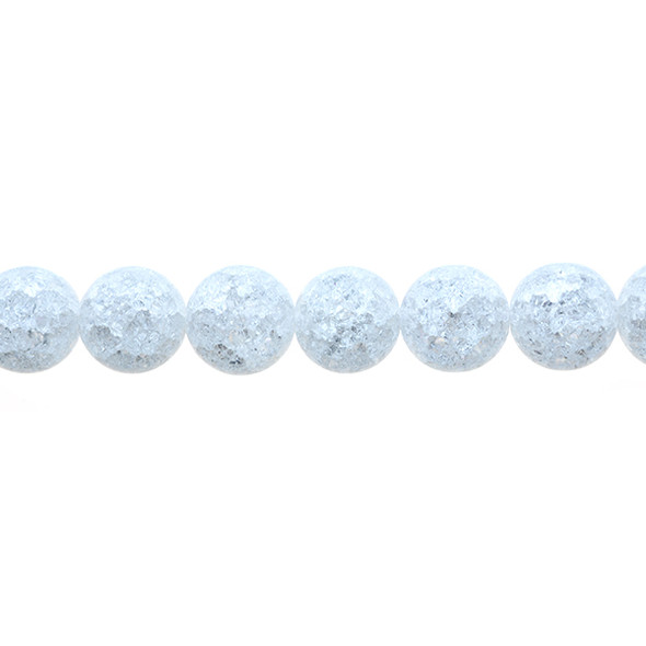 Crystal Round Cracked 12mm - Loose Beads