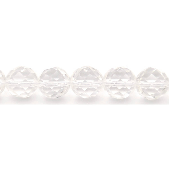 Crystal Round Faceted 14mm - Loose Beads
