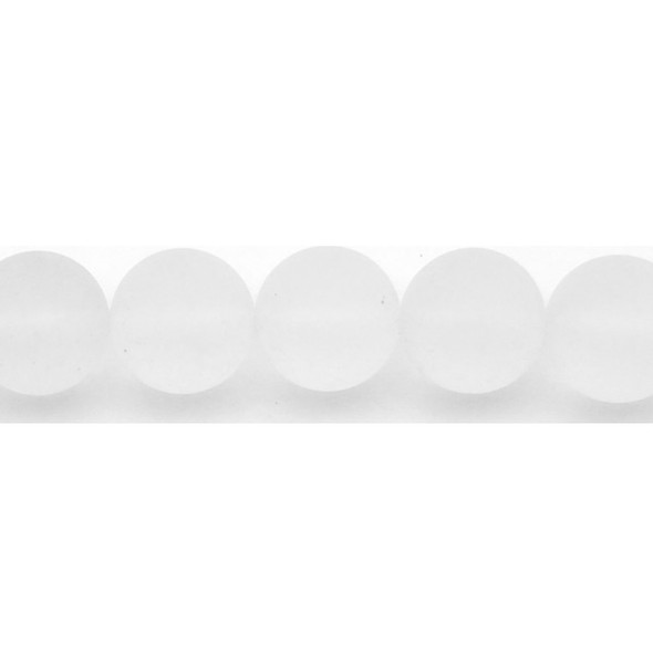 Crystal Round Frosted 16mm - Loose Beads