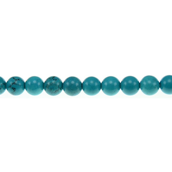 Chinese Turquoise Round 8mm - Loose Beads