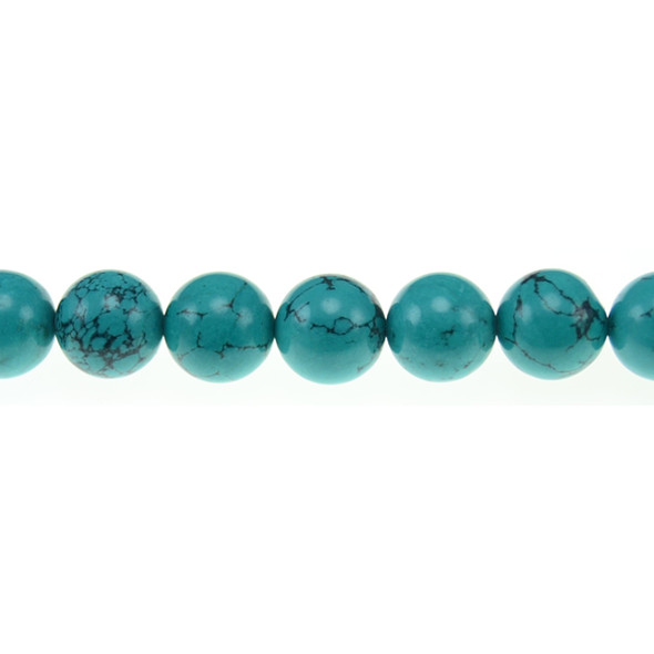 Chinese Turquoise Round 12mm - Loose Beads