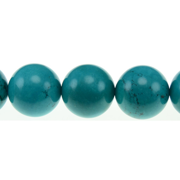 Chinese Turquoise Round 20mm - Loose Beads