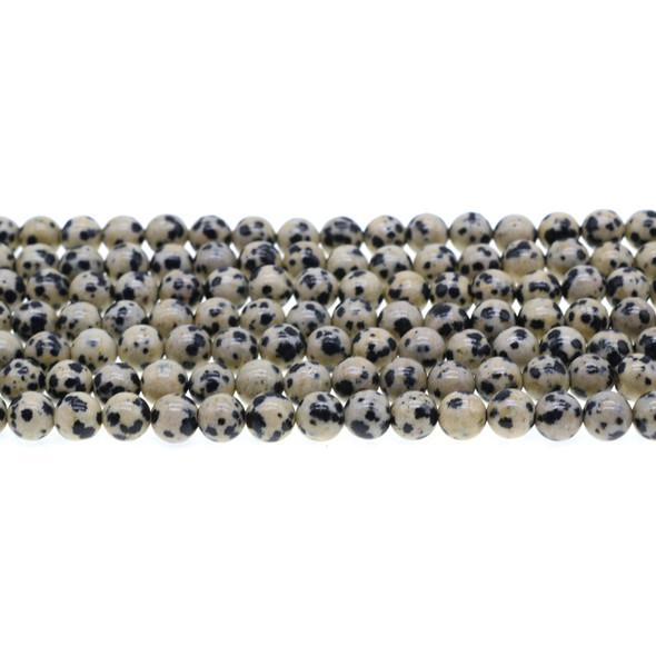 Dalmatian Jasper Round 6mm - Loose Beads