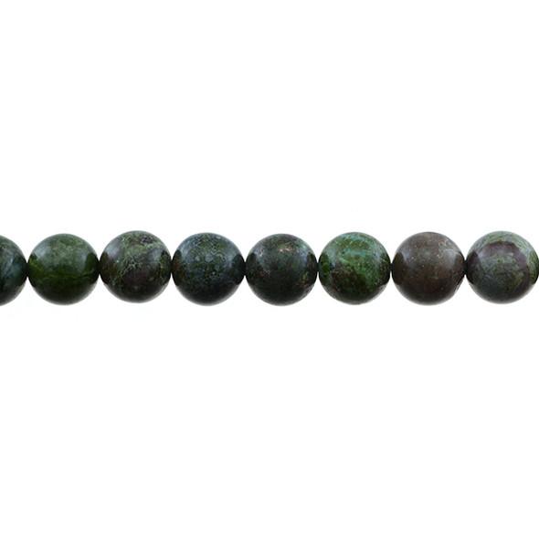 Dragon Blood Stone Jasper Round 10mm - Loose Beads