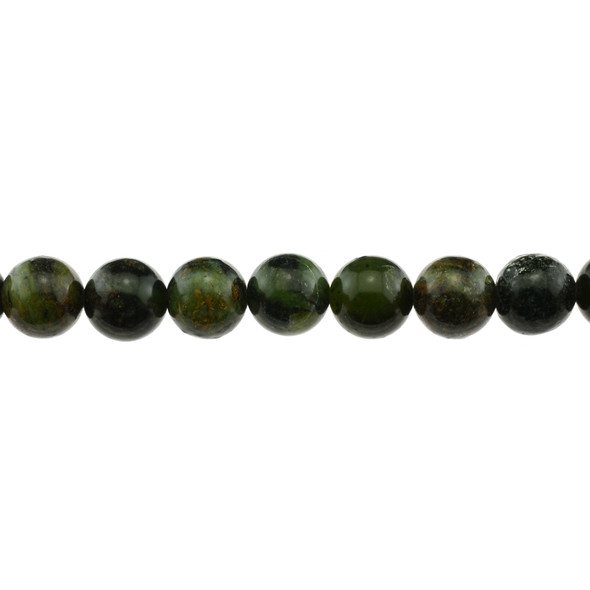 Dark Chrysoprase Australian Jade Round 12mm - Loose Beads