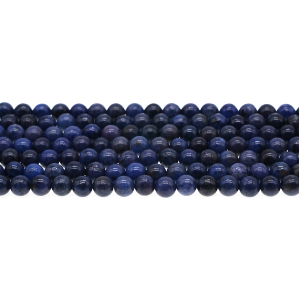 Dumortierite Round 6mm - Loose Beads