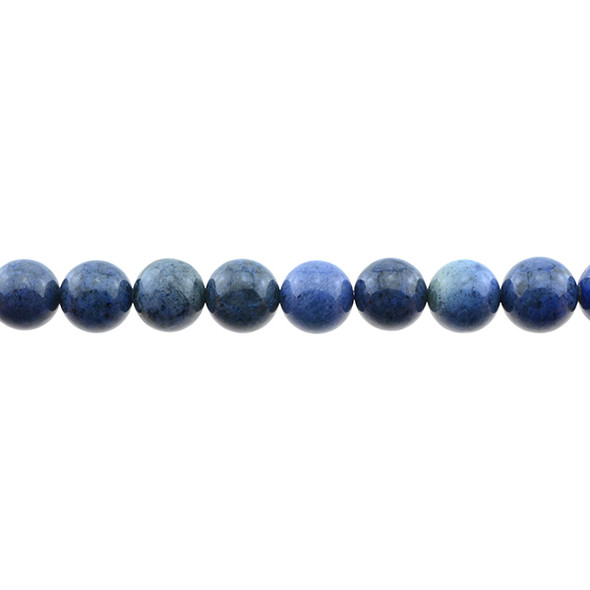 Dumortierite Round 10mm - Loose Beads