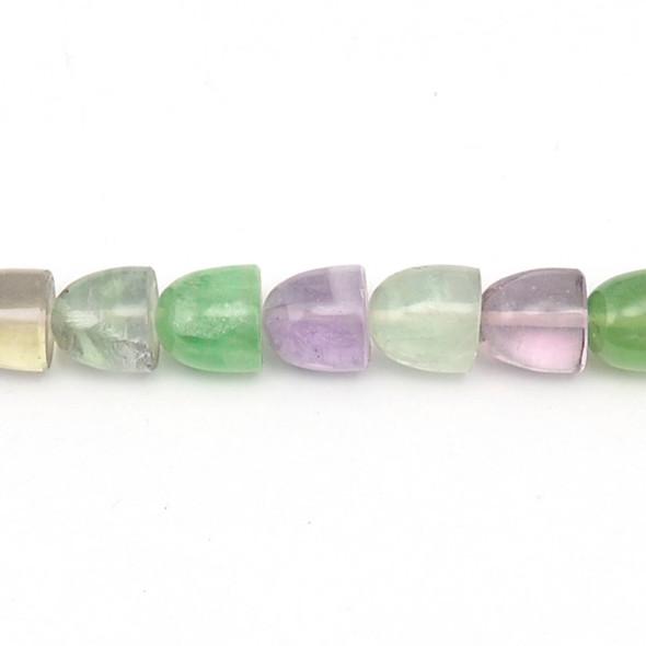 Fluorite Bullet 12mm x 12mm x 12mm - Loose Beads