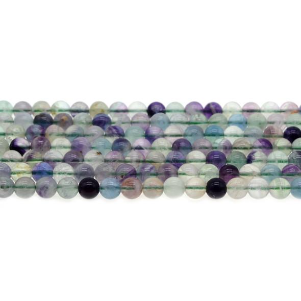 Fluorite Round 6mm - Loose Beads