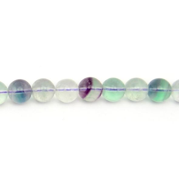 Fluorite Round 10mm - Loose Beads