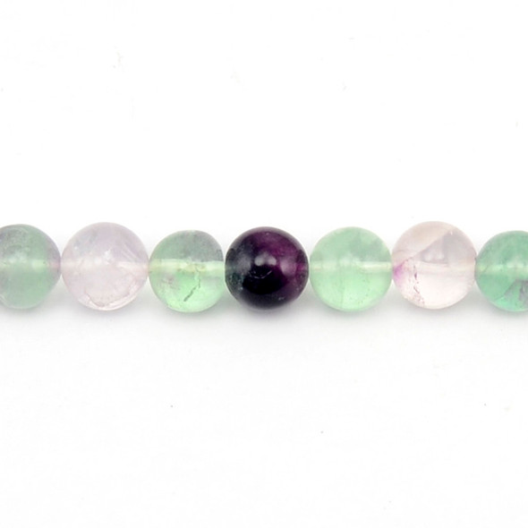 Fluorite Round 12mm - Loose Beads