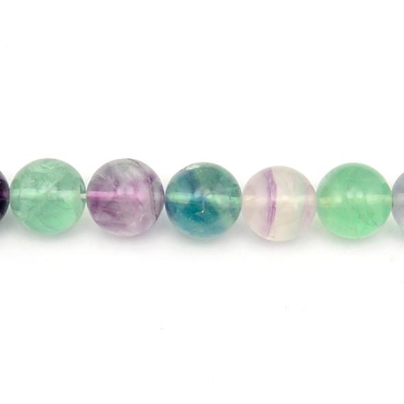 Fluorite Round 14mm - Loose Beads