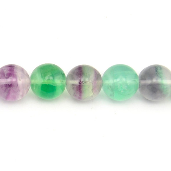 Fluorite Round 16mm - Loose Beads