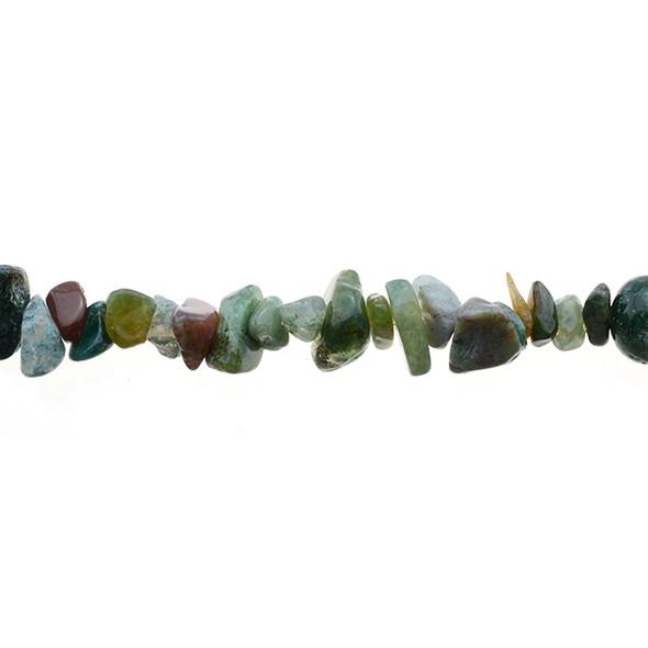 Fancy Jasper Chips 7mm x 7mm x 5mm - Loose Beads