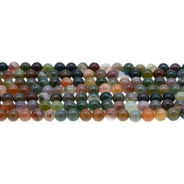 Fancy Jasper Round 6mm - Loose Beads
