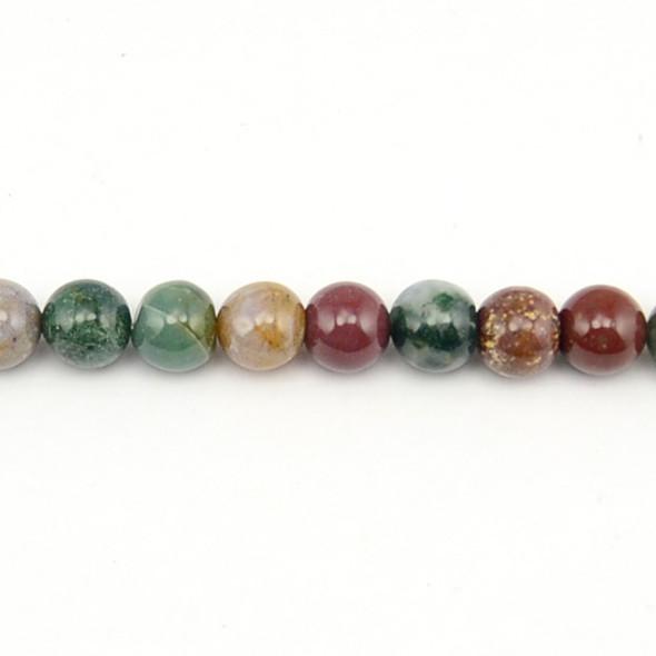 Fancy Jasper Round 10mm - Loose Beads
