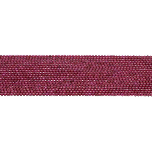 Garnet Round 2mm - Loose Beads