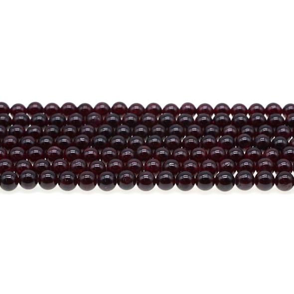 Garnet Round 6mm - Loose Beads