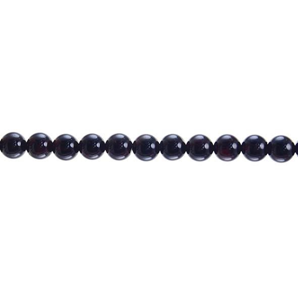 Garnet Round 8mm - Loose Beads