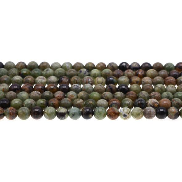 Green Opal Jasper Round 6mm - Loose Beads