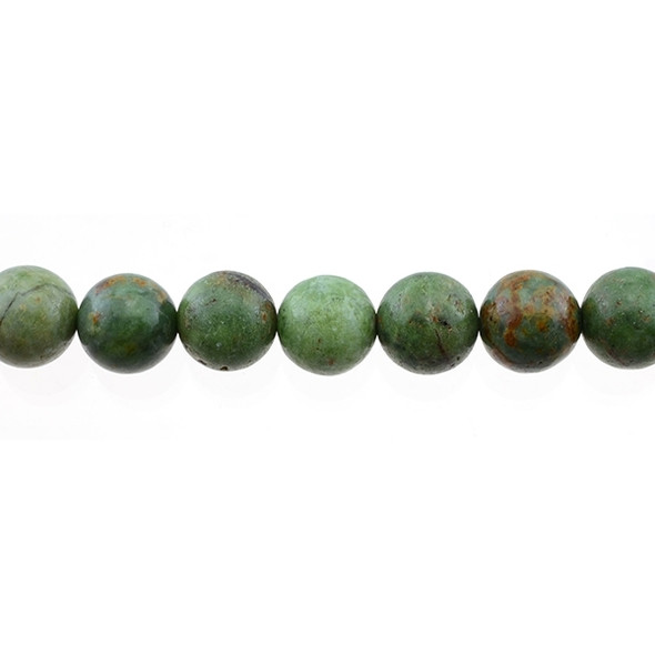 Green Opal Jasper Round 12mm - Loose Beads