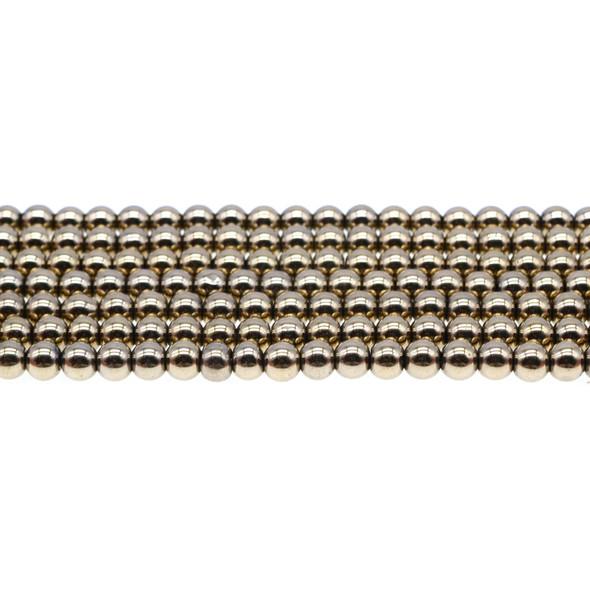 Golden Hematite Round 6mm - Loose Beads