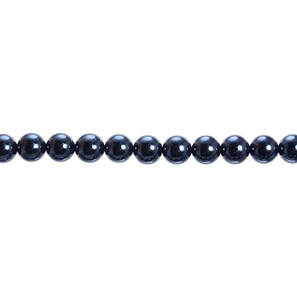 Hematite Round 8mm - Loose Beads