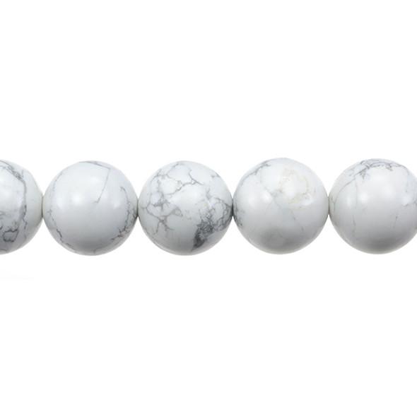 Howlite Round 16mm - Loose Beads