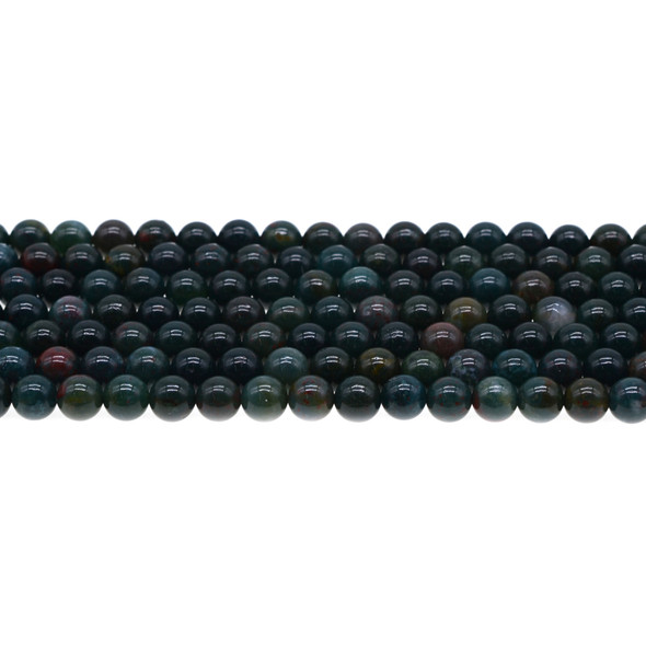 Indian Bloodstone Round 6mm - Loose Beads
