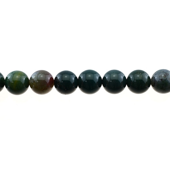 Indian Bloodstone Round 12mm - Loose Beads