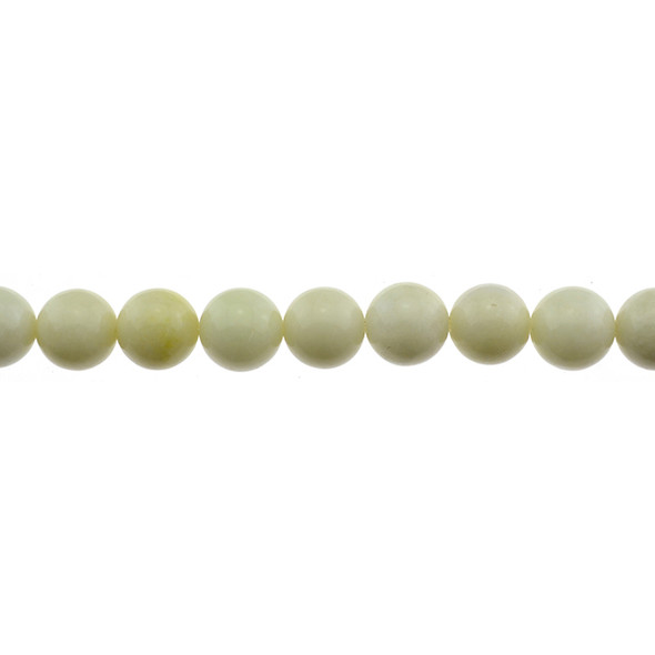 Ivory Jade Round 12mm - Loose Beads