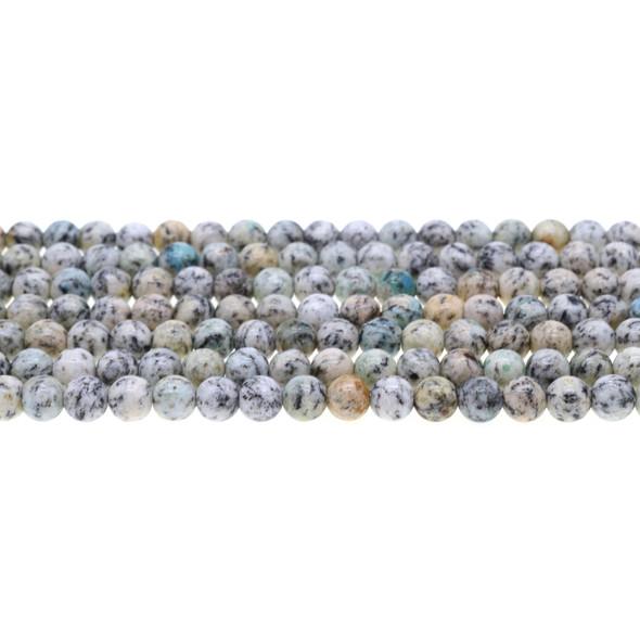 K2 Jasper Round 6mm - Loose Beads
