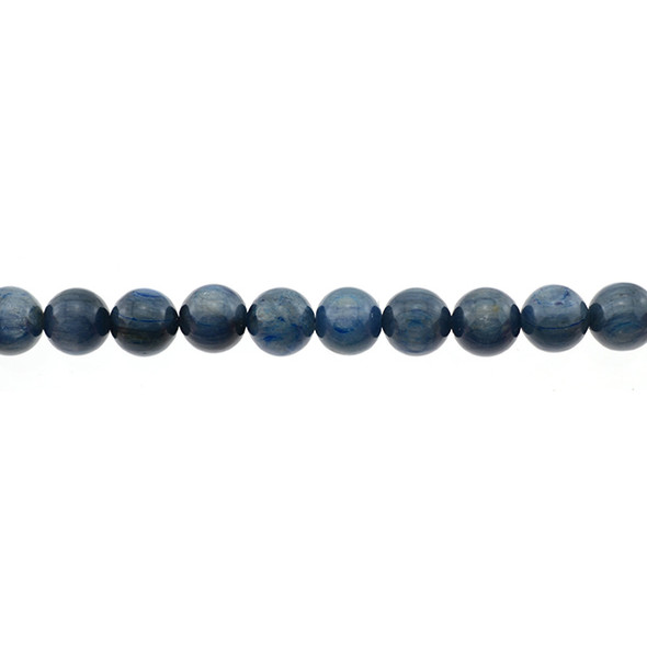 Kyanite A Round 10mm - Loose Beads