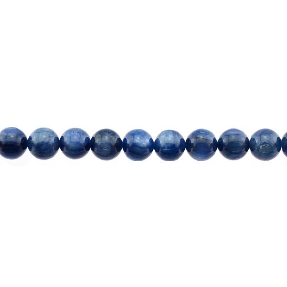 Kyanite AA Round 10mm - Loose Beads