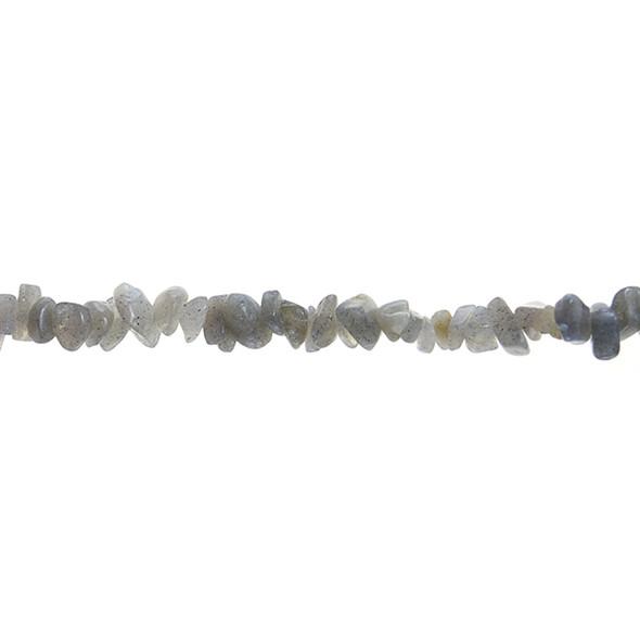 Labradorite Chips 7mm x 7mm x 5mm - Loose Beads