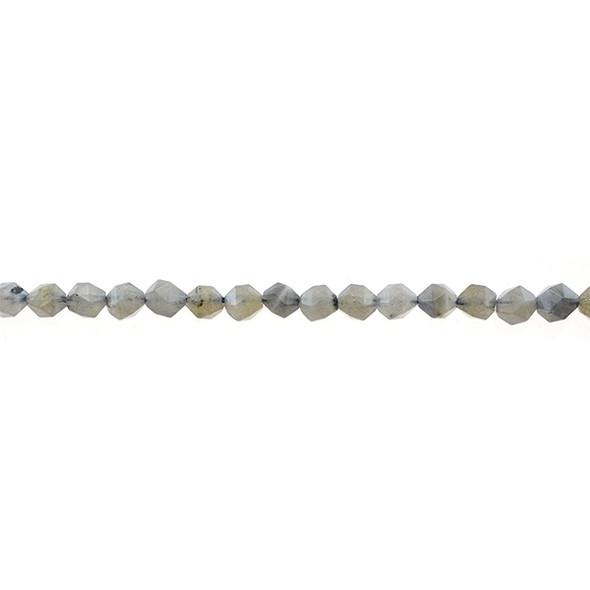 Labradorite (B) Round Large Cut 6mm - Loose Beads
