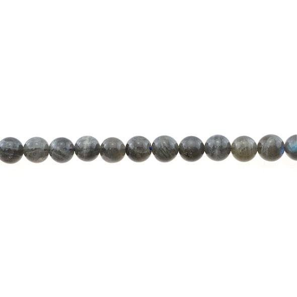 Labradorite Round 8mm - Loose Beads